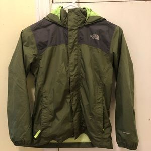 Boys North Face Raincoat!